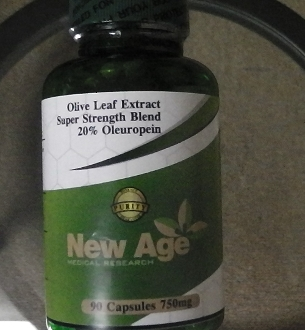 "(NEW) SUPER Strength 20% Oleuropein """"NOW 90 Capsules"""" 750 mg"